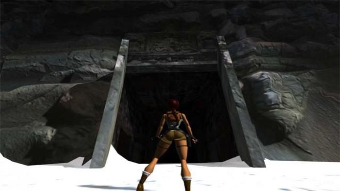 O começo do primeiro Tomb Raider (Foto: Divulgação/Square Enix)