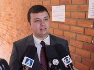 Promotor Mauricio Verdejo diz que suspeitos podem ficar presos por mais 3 anos  (Foto: Gilcilene Araújo/G1)