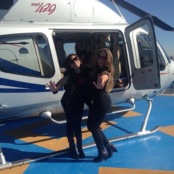 Anitta e Anamara (Foto: Instagram / Reprodução)