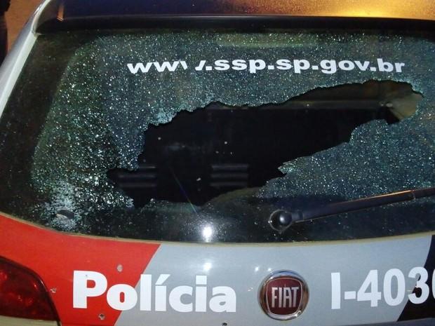 Grupo explode caixa eletrônico e troca tiros com PM em Araçoiaba da Serra (Foto: Arquivo pessoal)