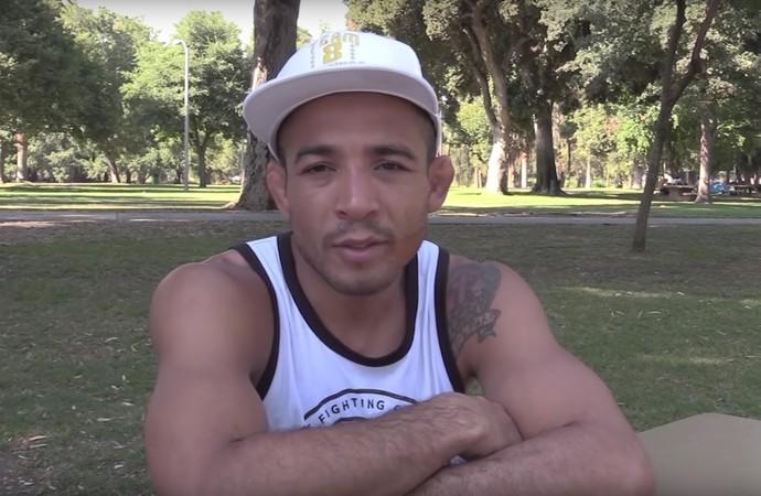 José Aldo Giro Combate (Foto: Reprodução / Combate)