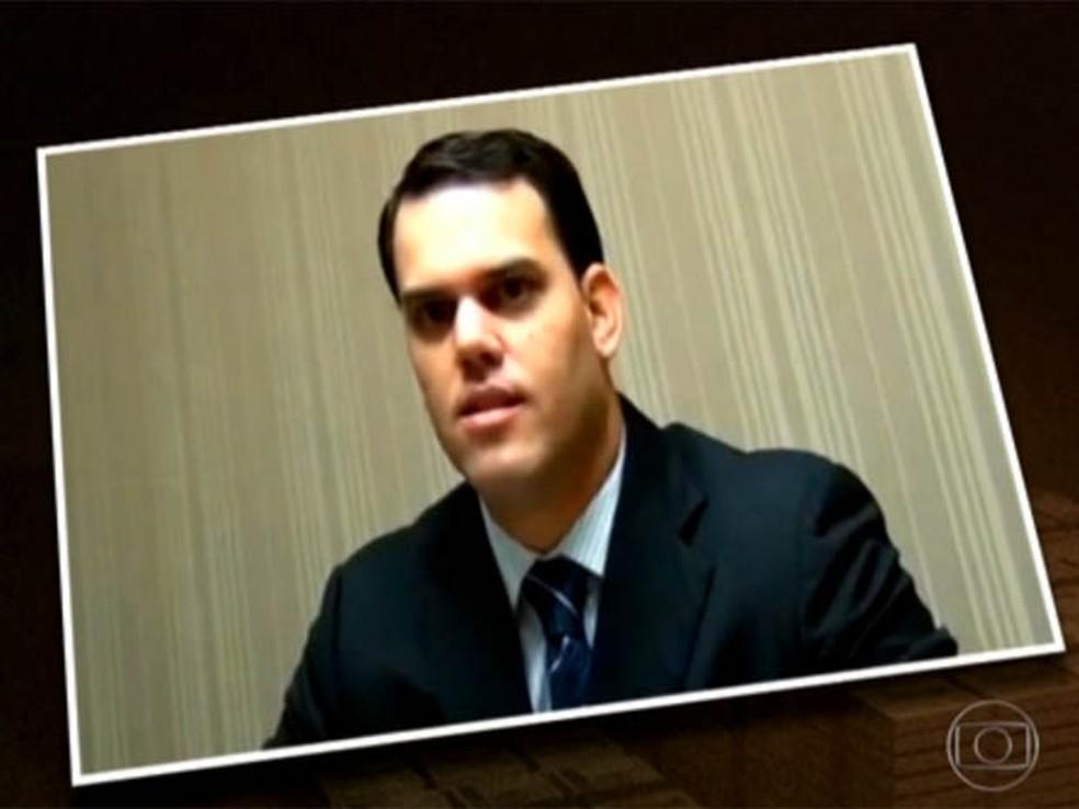 George Olímpio fez delação premiada em 2014 que implicou o deputado Ezequiel Ferreira de Souza (Foto: Reprodução/Inter TV Cabugi)