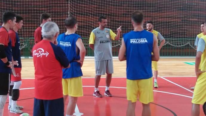 Floripa Futsal encara o Canoinhas (Foto: Divulgação/Floripa Futsal)