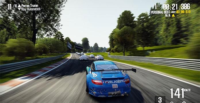 Need for Speed: Shift recuperou o visual realista (Foto: Divulgação)