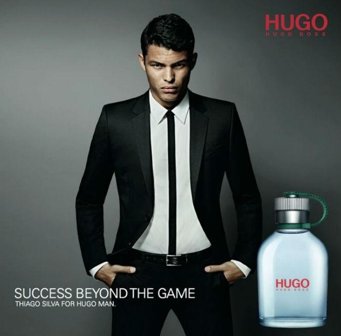 Thiago Silva mostra o resultado final de campanha de marca de perfume (Foto: Reprodução/Instagram)