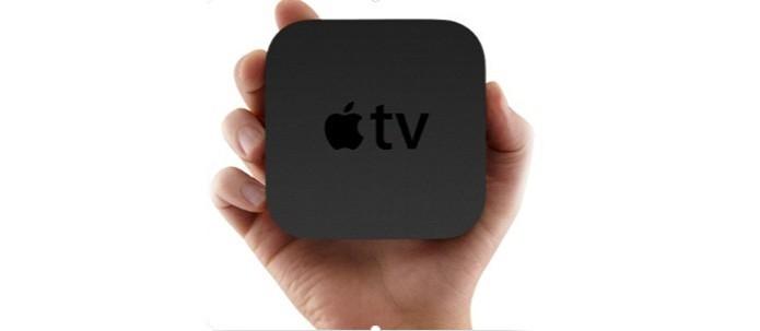 Apple TV cabe na palma da mão (Foto: Divulgação/Apple)