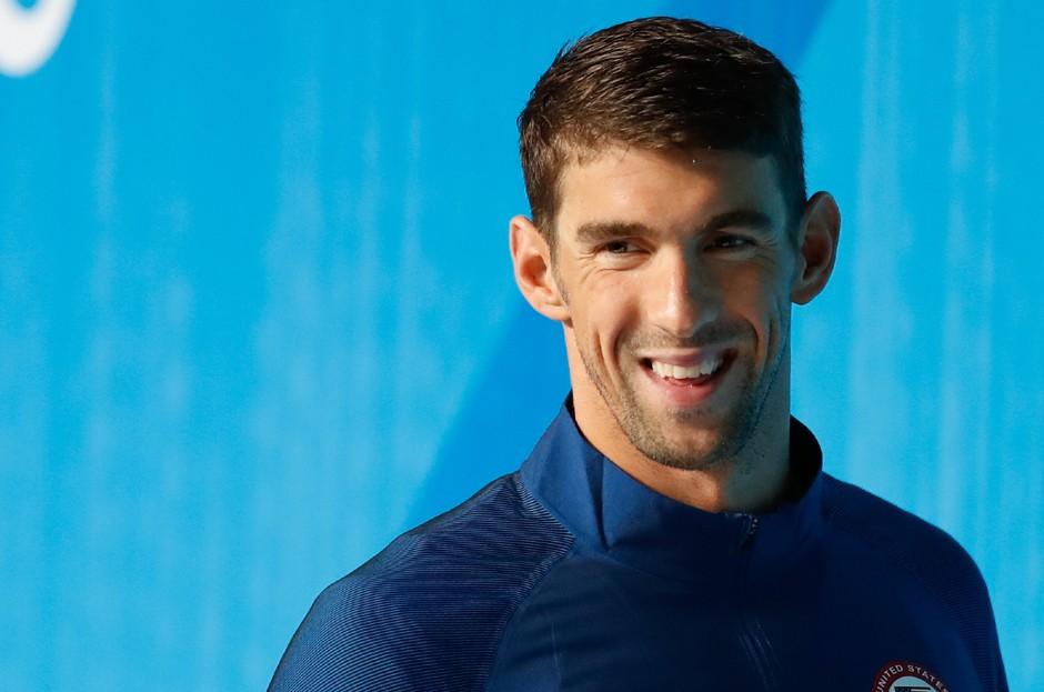 Michael Phelps, narrador americano, é um dos esportistas citados na lista (Foto: Flickr)