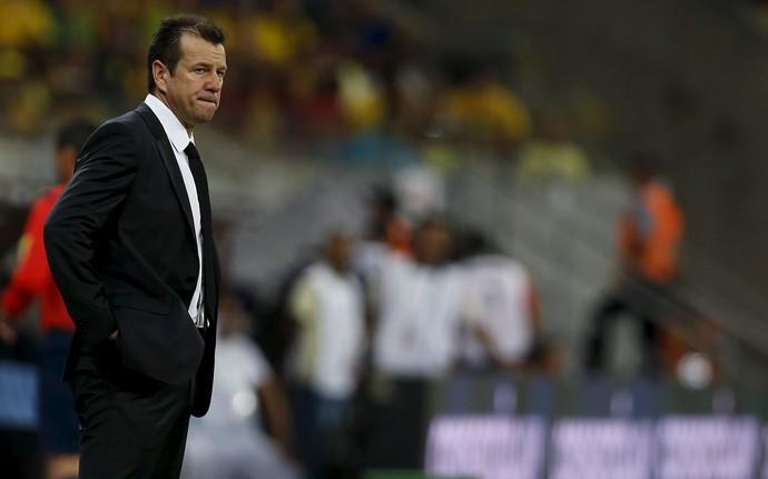 Dunga Brasil x Uruguai (Foto: REUTERS/Paulo Whitaker)