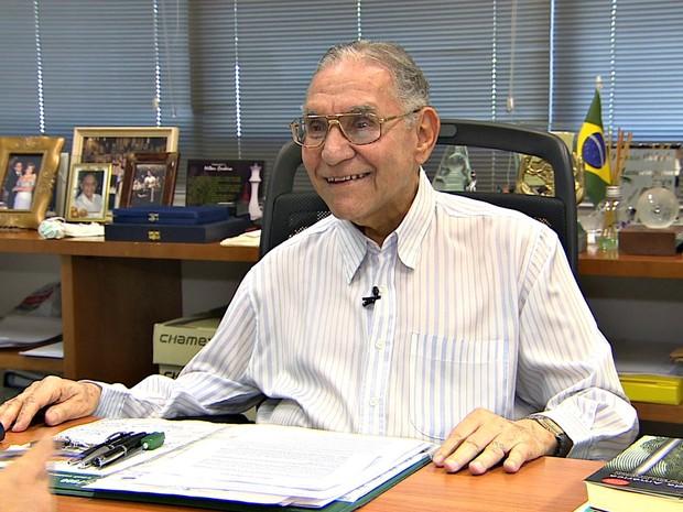 Vice-presidente Milton Cordeiro em foto de setembro de 2013 (Foto: Reprodução / Rede Amazônica)