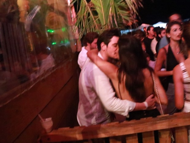 Mariana Rios e o namorado, o empresário Ivens Neto, em festa em Trancoso, na Bahia (Foto: Fred Pontes/ Divulgação)
