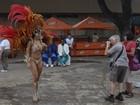 Turistas são recebidos com samba no 'meio do mundo', no Amapá