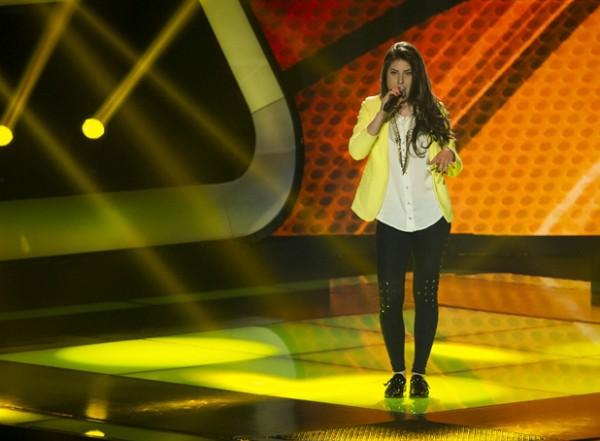 Bruna Góes conquistou os técnicos com a música Proud Mary (Foto: Globo/João Cotta)