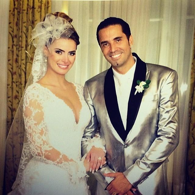 Casamento de Rayanne e Latino (Foto: Reprodução)