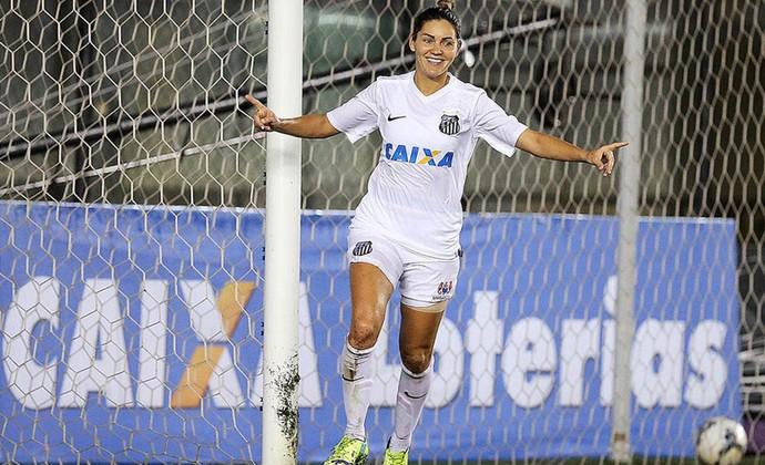 Gabi Zanotti, Sereias da Vila (Foto: Pedro Ernesto Guerra Azevedo / Santos FC)
