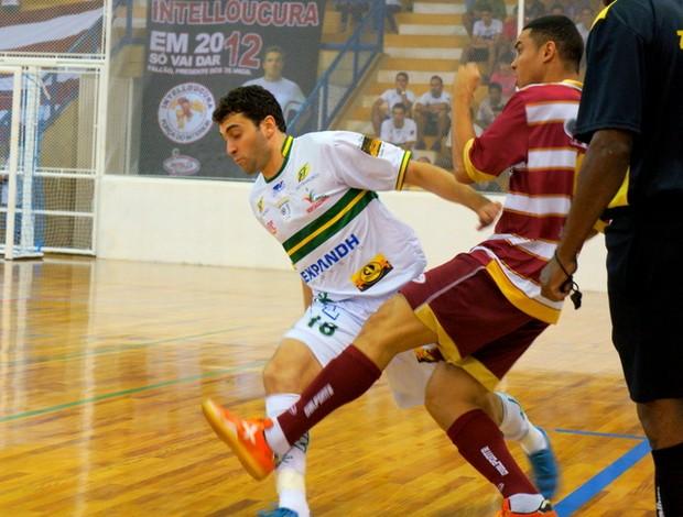 Em noite de festa, Sertãozinho e Orlândia fica no empate em 2 a 2 (Foto: Carlos Silva / Orlândia Futsal)