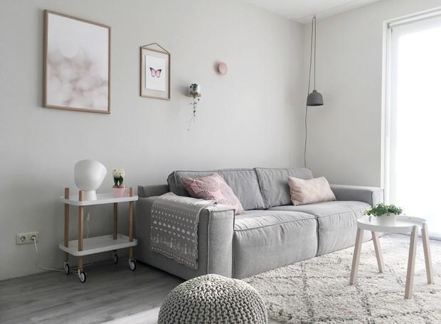Toques de rosa se espalham por todo o décor da blogueira (Foto: Inge van Cleef/Divulgação)