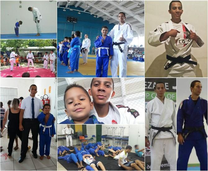 Judoca descobre leucemia  (Foto: Arquivo Pessoal )
