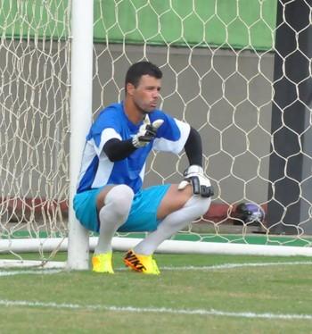 Fernando Pompéu, goleiro do Rio Branco-AC (Foto: Manoel Façanha/Arquivo pessoal)