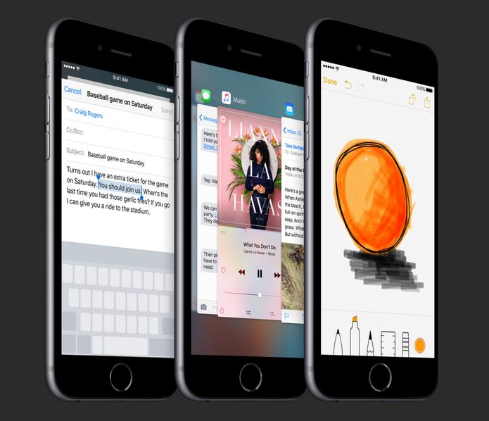 iPhone 6s Plus possui um processador Apple A9 de 64 bits (Foto: Divulgação/Apple)
