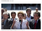 Jornais estrangeiros comentam troca de governo no Brasil