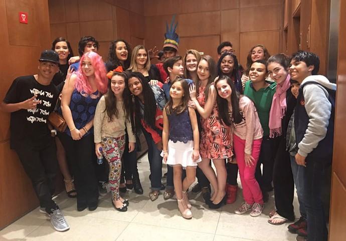 The Voice Kids e Click Esperança juntos e misturados (Foto: Arquivo pessoal)