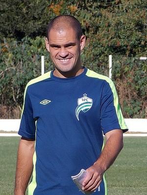Julio Terceiro, volante do Luverdense (Foto: Assessoria/Luverdense Esporte Clube)