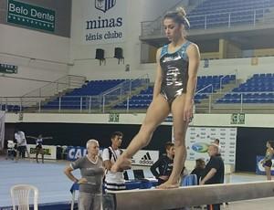 Daniele Hypólito  no Campeonato Brasileiro (Foto: Rafael Araújo)