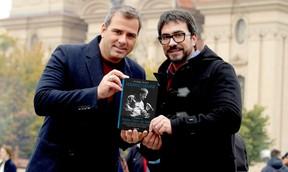 Rodrigo Alvarez é o autor de Humano Demais, biografia de Padre Fábio de Melo (Foto: Divulgação Globo Livros)