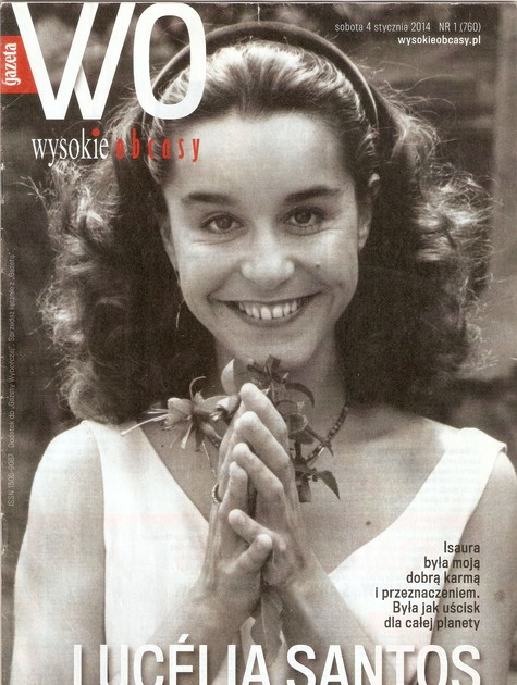 Lucélia Santos é capa de revista na Polônia (Foto: Divulgação)