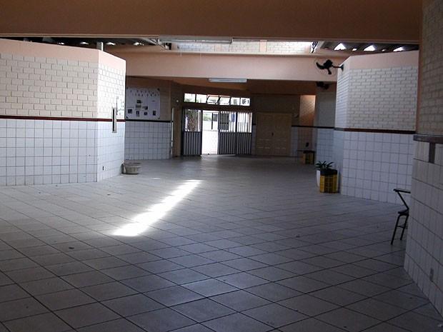 Escola (Foto: Ruan Melo/G1)