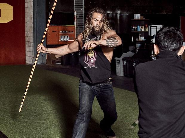 Jason Momoa: 104 quilos de músculos (Foto: Divulgação)