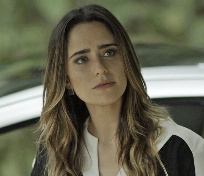Bruna planeja ficar com Giovanni e compra chalé isolado  (Foto: TV Globo)
