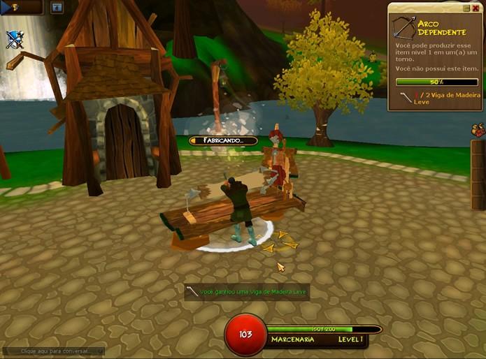 Villagers & Heroes é um MMORGP em que os avatares tanto poderão ser tanto um heróis como simples aldeões (Foto: Reprodução/Daniel Ribeiro) (Foto: Villagers & Heroes é um MMORGP em que os avatares tanto poderão ser tanto um heróis como simples aldeões (Foto: Reprodução/Daniel Ribeiro))