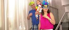 Casal mostra que amor de Carnaval é possível (Reprodução / TV TEM)