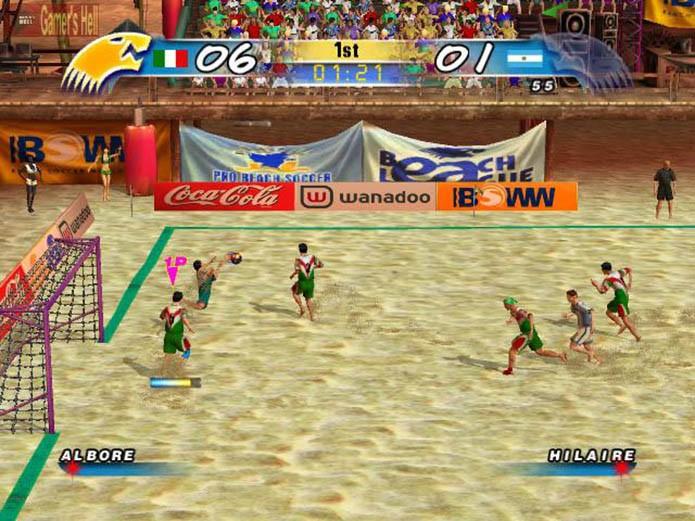 Pro Beach Soccer (Foto: Reprodução)