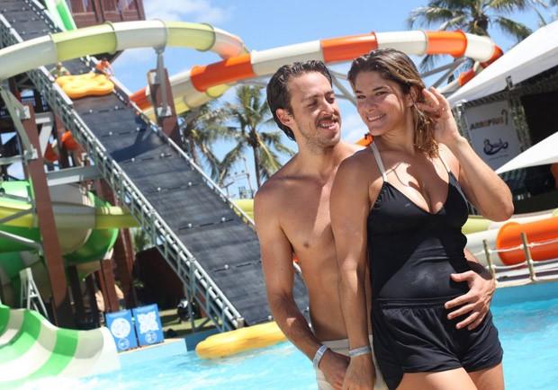 Priscila Fantin e Renan Abreu (Foto: Zô Guimarães/Revista Quem)