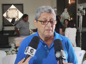 Flávio Veina Thé, pai da vítima  (Foto: Gil Oliveira/ G1 PI)