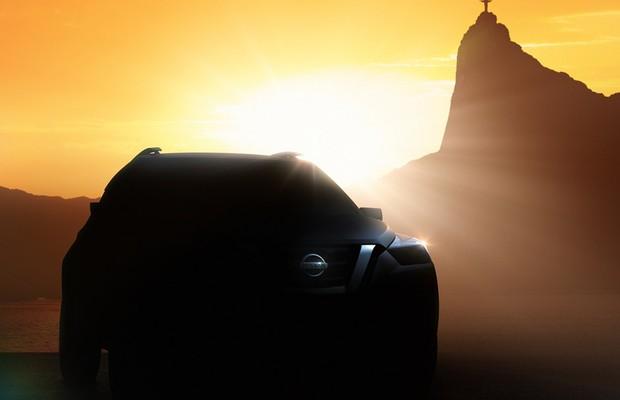 Nissan divulga primeiro teaser de conceito que antecipa futuro crossover da marca (Foto: Divulgação)