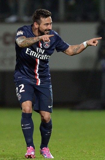 Lavezzi gol PSG (Foto: AFP)
