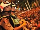 Segurança é reforçada durante o Folia de Rua em João Pessoa