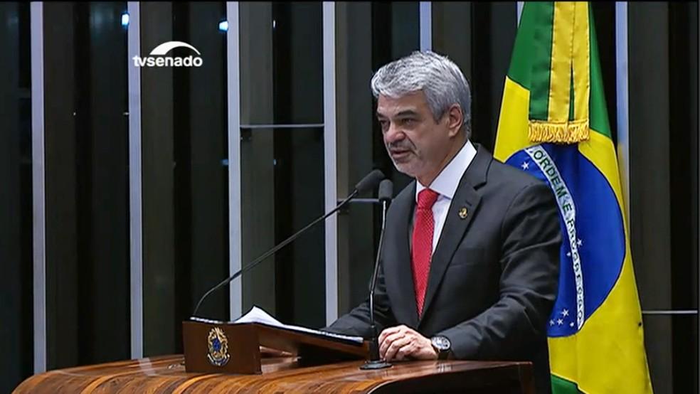 Humberto Costa (Foto: Reprodução/TV Senado)