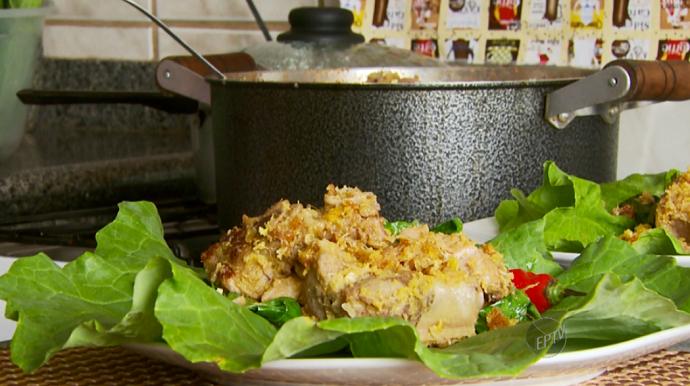 A receita de Costelinha MIneira é uma dica simples e saborosa que representa Minas Gerais (Foto: reprodução EPTV)