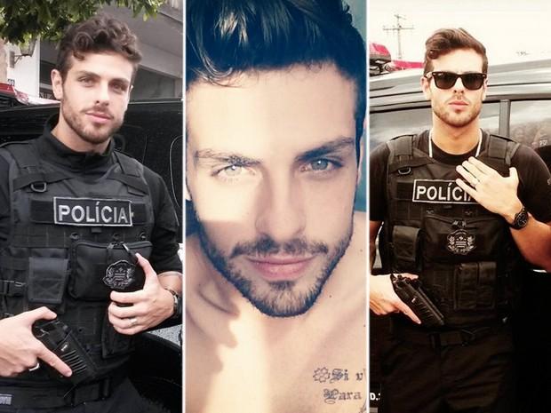 Diego Del Rio chegou a fazer trabalhos como modelo, mas quis saber da carreira (Foto: Arquivo pessoal/Divulgação)