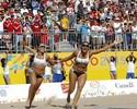 Dupla feminina campeã do Pan sonha popularizar vôlei de praia na Argentina