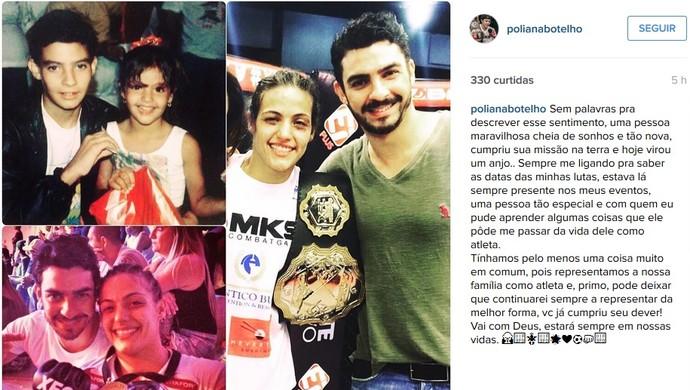 Poliana Botelho Patrick Lopes Muriaé (Foto: Reprodução/Instagram)