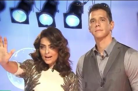 Juliana Paes e Marcio Garcia (Foto: Viva)