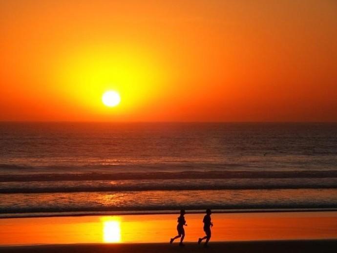 Motorola Toda a beleza do pôr do sol (Foto: Divulgação)