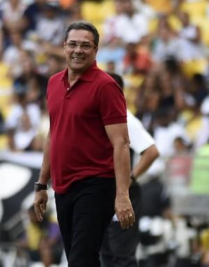 Vanderlei Luxemburgo Flamengo x Vasco (Foto: André Durão / GloboEsporte.com)