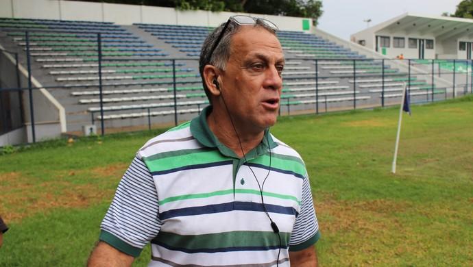 Celso Teixeira, técnico do Flamengo-PI (Foto: Wenner Tito )