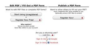 PDFescape, editor online de arquivos PDF